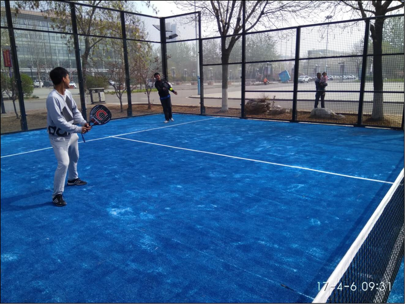 12mm Tempered Padel court Glass