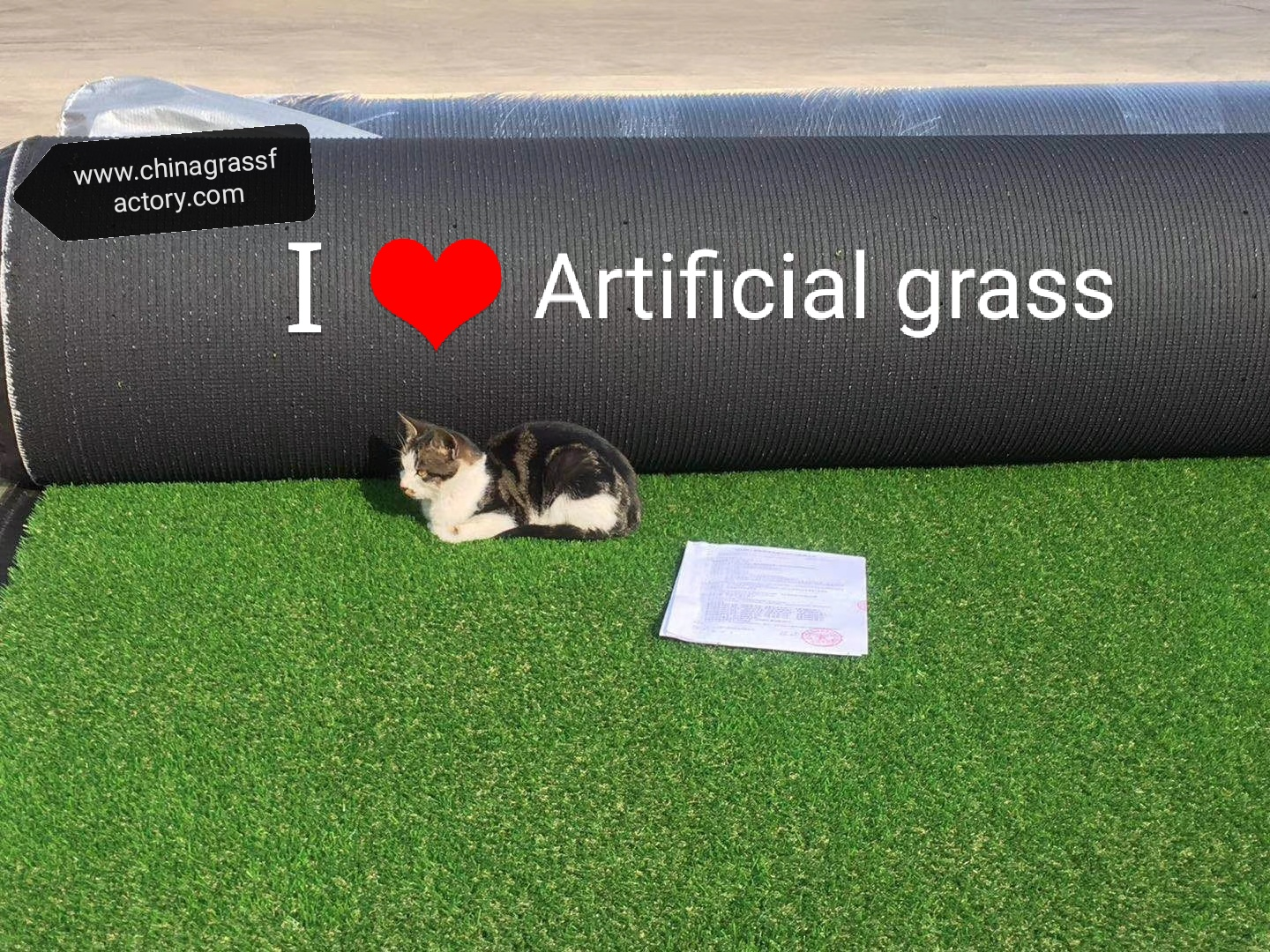 OUR #ARTIFICIALGRASS AND #SYNTHETICTURF PASSED THE NO HEAVY METAL TEST BY #SGS