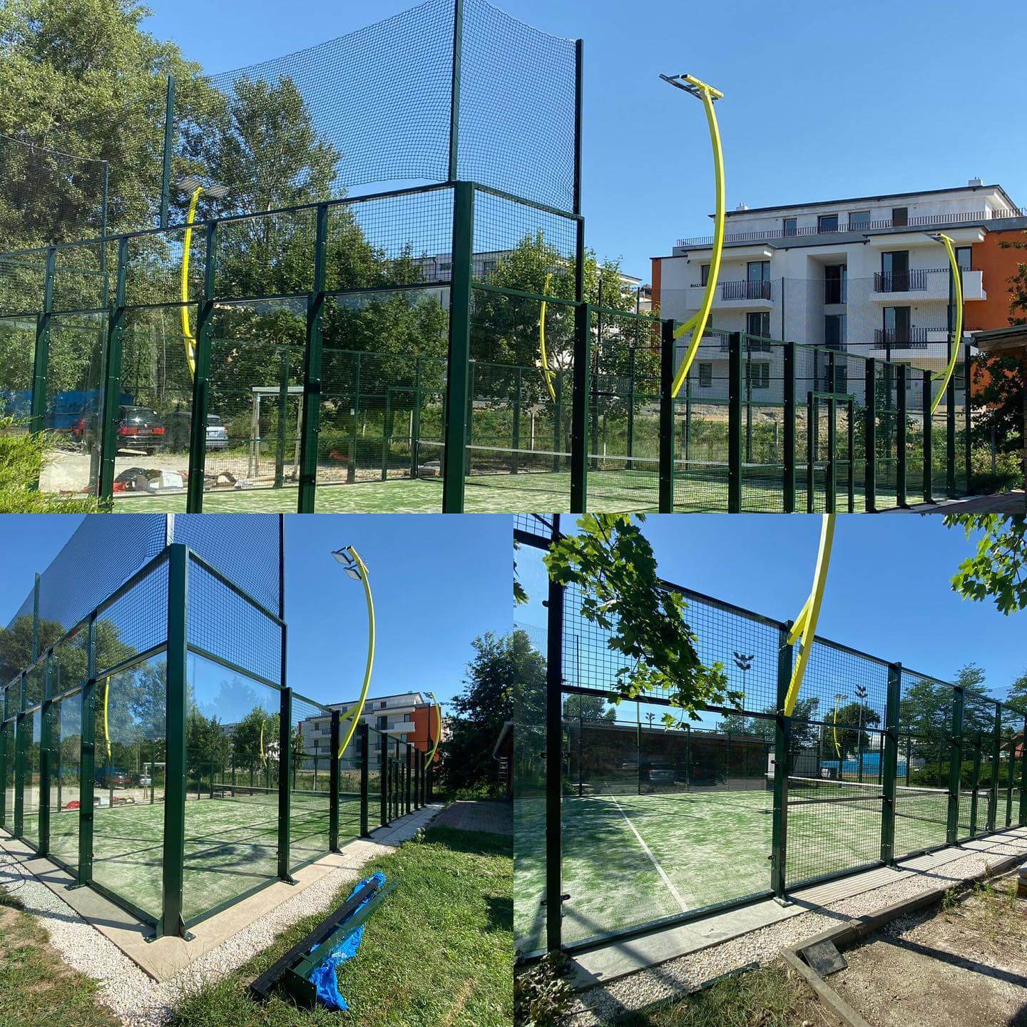 Led light for padel courts
